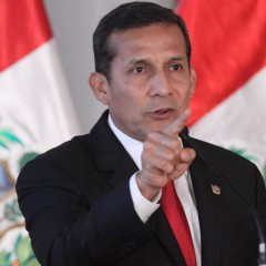 Ollanta Humala élu président du Pérou