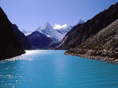 Voyage et Tourisme au Pérou – Lagunes de Llanganuco, Parc National du Huascaran, Pérou