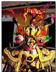 Voyage et Tourisme au Pérou - Masque traditionnel - Puno, Pérou