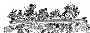 Senor de Sipan - fresque