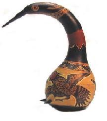 Voyage et Tourisme au Pérou - Maté décoré, Ayacucho, Pérou