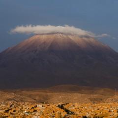 Le Misti, le gardien d'Arequipa