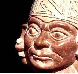 Voyage et Tourisme au Pérou - Réplique d'une céramique de la culture Moche, culture préinca du nord du Pérou