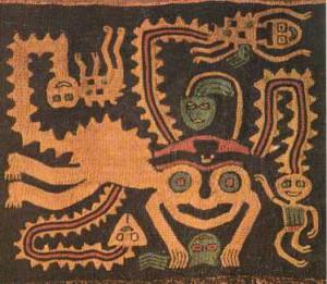 Voyage et Tourisme au Pérou – Textile de la culture Paracas, Pérou