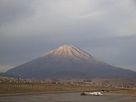 Les volcans et séismes au Pérou